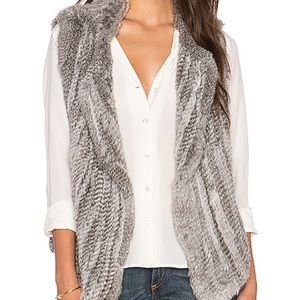 Joie Rabbit Fur Vest